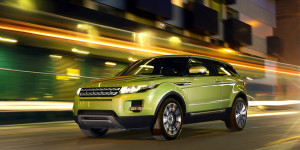 Land Rover Evoque Green